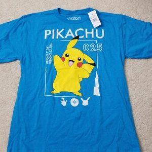 NWT. Boys pokemon shirt
